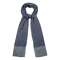 Red Herring - Blue tipped scarf