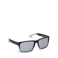 Mantaray - Black plastic square sunglasses