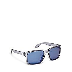 Mantaray - Blue plastic square sunglasses