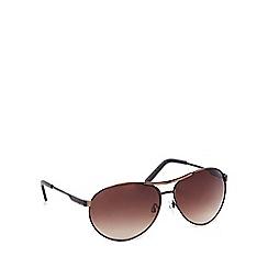 Red Herring - Bronze metal pilot sunglasses