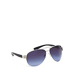Red Herring - Silver metal pilot sunglasses