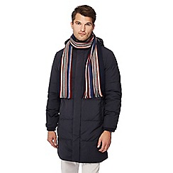 J by Jasper Conran - Multicoloured striped wool scarf