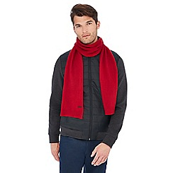 J by Jasper Conran - Red cashmere scarf in a gift box