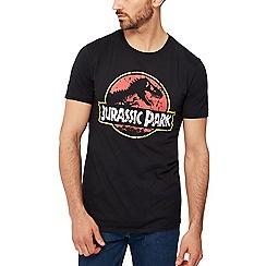 Debenhams - Black 'jurassic park' print t-shirt