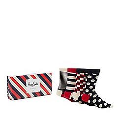 Happy Socks - 4 pack multicoloured printed socks