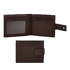 The Collection - Brown leather wallet