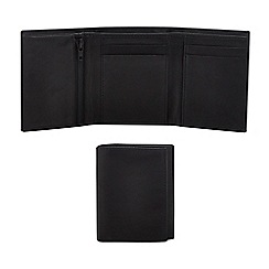 The Collection - Brown leather wallet in a gift box
