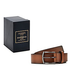 Hammond & Co. by Patrick Grant - Tan leather belt