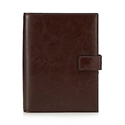 J by Jasper Conran - Brown leather organiser in a gift box