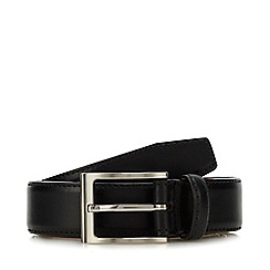 Loake - Black leather belt
