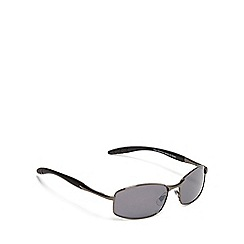 The Collection - Grey rectangle sunglasses