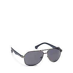 Converse - Grey plastic H015 pilot sunglasses