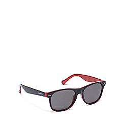 Converse - Grey and red plastic H010 square sunglasses