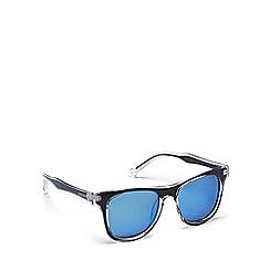 Converse - Blue plastic H051 square sunglasses