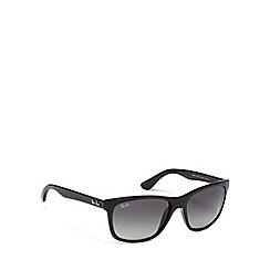 Ray-Ban - Black RB4181 square sunglasses