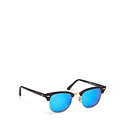 Ray-Ban - Brown acetate RB3016 square sunglasses