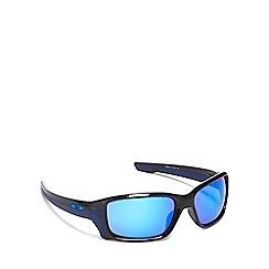 Oakley - Blue plastic 'Straightlink' OO9331 rectangle sunglasses