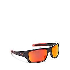 Oakley - Red plastic 'Turbine' OO9263 square sunglasses