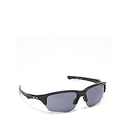 Oakley - Grey plastic 'Flak Beta' OO9363 wrap sunglasses