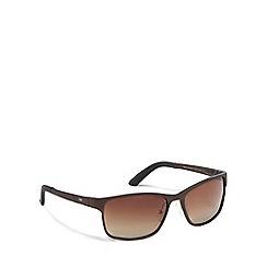Stormtech - Brown metal 'Omega' 9STEC357-7 square sunglasses