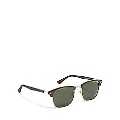 Stormtech - Brown metal 'Diocles' 9STEC595-3 square sunglasses