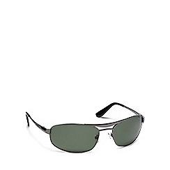 Dirty Dog - Grey metal '52761' rectangle sunglasses
