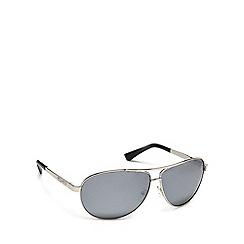Dirty Dog - Grey metal '53136' pilot sunglasses