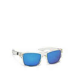 Dirty Dog - Clear plastic 'Vendetta' 53247 rectangular square sunglasses