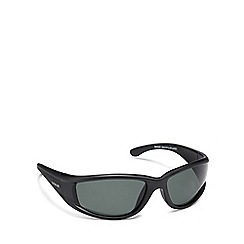 Dirty Dog - Black plastic 'Banger' 52843 wrap sunglasses