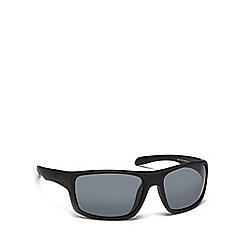 Dirty Dog - Black plastic 'Axle' 53401 rectangular sunglasses