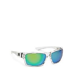 Dirty Dog - Clear plastic 'Storm' 53410 rectangular sunglasses