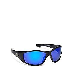 Dirty Dog - Blue plastic 'Ridge' 53388 wrap sunglasses