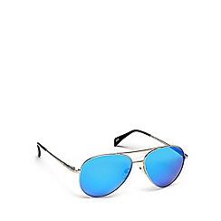 Dirty Dog - Grey metal '53476' pilot sunglasses