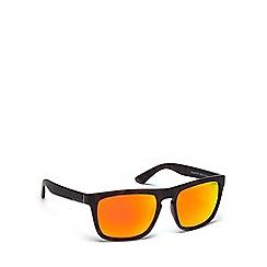 Dirty Dog - Black plastic 'Ranger' 53471 square sunglasses