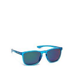 Dirty Dog - Blue plastic 'Shadow' 53489 rectangular sunglasses