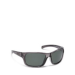 Dirty Dog - Black plastic 'Shock' 53510 square sunglasses