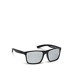Dirty Dog - Black plastic 'Volcano' 53435 square sunglasses