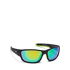 Dirty Dog - Black plastic 'Chain' 58070 wrap sunglasses