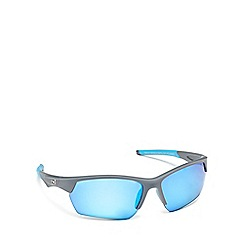Dirty Dog - Grey plastic 'Track' 58069 wrap sunglasses