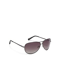 Bloc - Green metal 'Navigator' pilot sunglasses