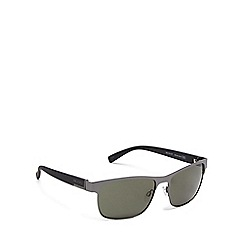 Bloc - Green metal 'Deck' square sunglasses