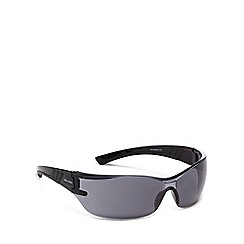 Bloc - Grey plastic 'Fly 3' wrap sunglasses