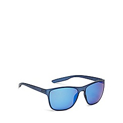 Bloc - Blue plastic 'Cruise 2' square sunglasses