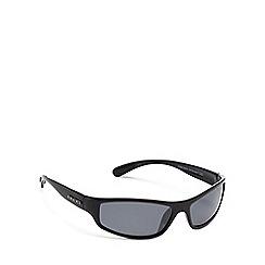 Bloc - Black plastic 'Hornet' wrap sunglasses