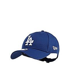 Yankee - Blue 'LA' embroidered cotton baseball hat