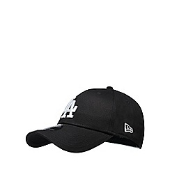 Yankee - Black 'LA' embroidered baseball hat