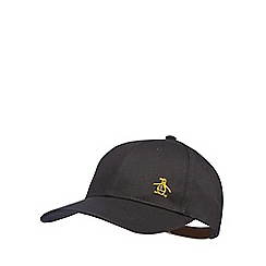 Original Penguin - Black embroidered logo baseball hat