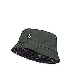 Original Penguin - Green reversible bucket hat