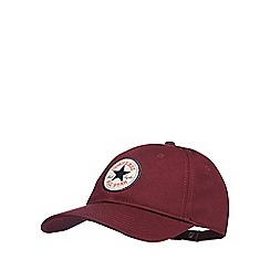 Converse - Purple logo applique baseball hat