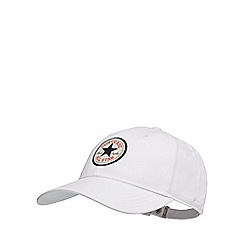 Converse - White logo applique baseball hat